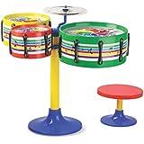 Kartsasta Musical Instruments For Kids(Assorted Colours & Designs) (Jazz Drum Set For Kids)