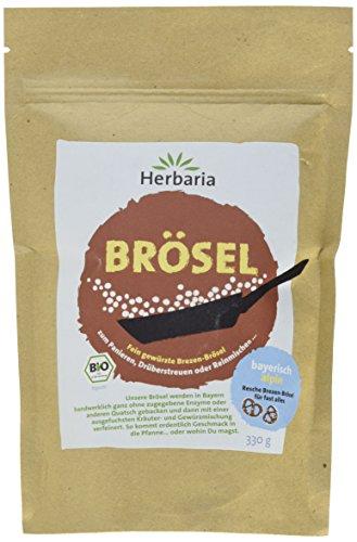 Herbaria Bayerische Brösel Bio - Bayrisch-Alpine Gewürz-Panade aus Brezen Brösel
