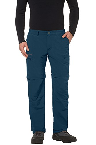 Vaude Farley Zo IV Pantalon Homme Bleu - Baltic Sea