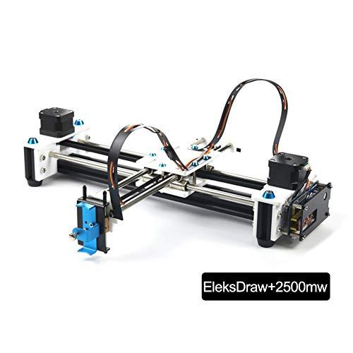 Bulary Drawing Machine Drawing Roboter Plotter Pen Drawing Robot Drawing Machine (Enthaltene EleksDraw Drawing Machine, Netzteil, USB-Kabel, Stecker Adapter)