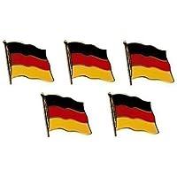 5er Pack Deutschland Flaggenpin Yantec Pin Flagge