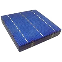 MISOL 10 pcs of Poly Solar Cell 6x6 4.14w, GRADE A, polycrystalline cell, DIY solar panel, for DIY solar module