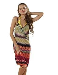 "Waooh - Mode - Paréo / Robe de plage ""Paloma"" - African style"