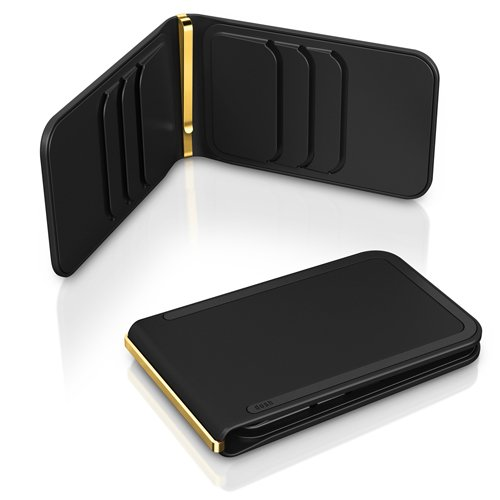 Black Gold Luxe 6 Briftasche von dosh (Luxe Handtaschen)