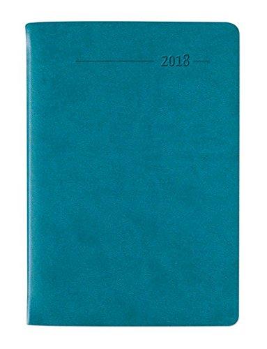 Taschenkalender Mini Tucson türkis 2018 - Bürokalender / Taschenplaner (8 x 11,5) - 1 Woche 2 Seiten - 144 Seiten