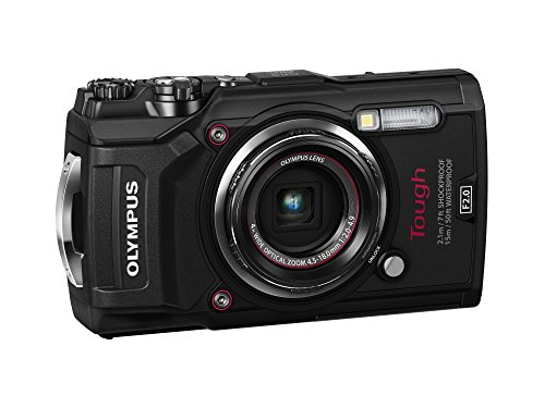 Olympus TG-5 Waterproof Camera with 3-Inch LCD, Black (V104190BU000)