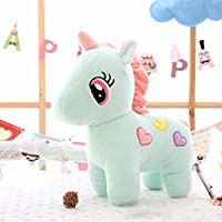 Parteet Super Soft Plush Unicorn Toy Soft Stuffed for Kids 25 cm(Assorted Colours)(Made in India)