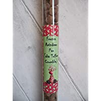 Frozen Reindeer Poo In A Tube! (aka Chocolate Toffee Crumble) - Christmas Stocking Filler, Secret Santa Gift
