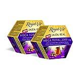 Royal-Vit - Jalea Real Mega Total de 2000 mg. Pack x 2 de 20 Viales de...