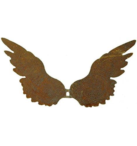Flügel D1 12cm hoch (klein) breit nach Oben mit Loch zum Einarbeiten