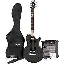 Guitarra Eléctrica New Jersey II + Pack Completo - Negro