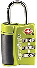 Samsonite Neon Green Luggage Lock