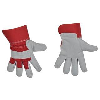 AVIT AV13071 Rigger Gloves, Grey/Red, X-Large