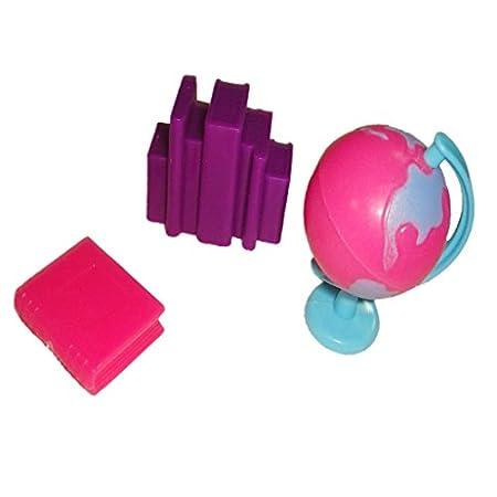Accessoires En Plastique Livres Globe Pour 29cm Poupées Doll