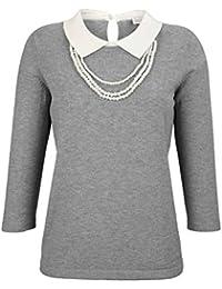Suchergebnis auf für: pullover mit hemdkragen