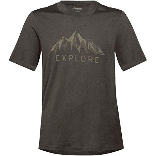 Bergans Explore Wool Tee Men - Shirt aus Merinowolle