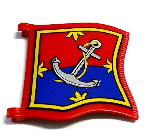 playmobil ® - Fahne Flagge für Piratenschiff - 4290 - Ankerflagge Tarnschiff