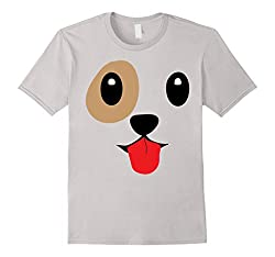 Dog Emoji Halloween Costume Dog Face Tongue Out Emoji by Emoji TShirts & Costumes By Kela