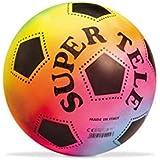 Mondo 04200 PVC-Fußball Super Tele Fluor Ø 23 cm, sortiert