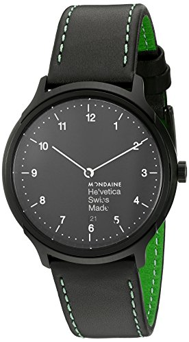 Mens Mondaine Helvetica No1 Regular Watch MH1R2221LB