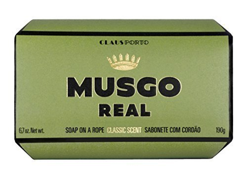 Claus Porto Musgo Real Men's Body Soap on a Rope (190 g)