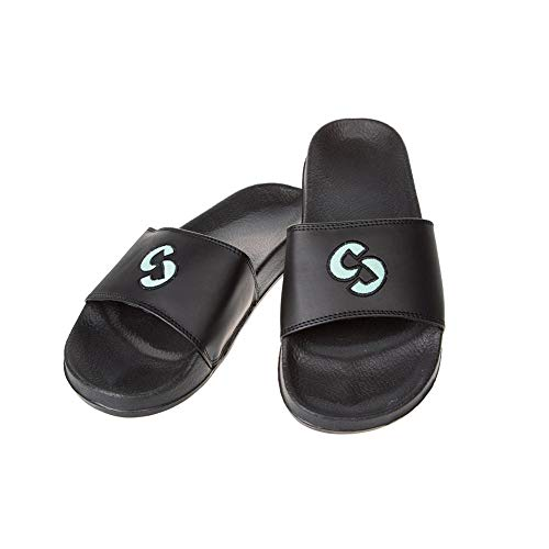 SINNER Zehentrenner für Damen und Herren - Komfortable Badelatschen mit Rutschfester Sohle - Flip Flops für Strand und Badeurlaub - Schwarz 42
