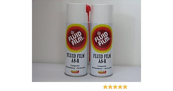 2 X Fluid Film As R Langzeit Rostschutz Kriechöl 400ml Sprühdosen Baumarkt