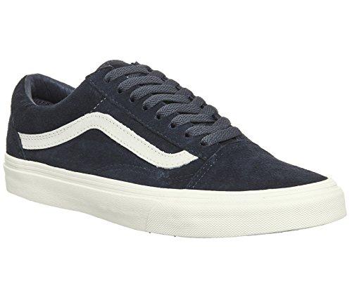Vans Suede Old Blau Sneakers Skool Damen Pig pBx0wqSPB