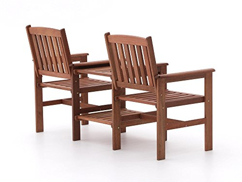 Tete a Tete Holz Guarde 2-Sitzer Gartenbank