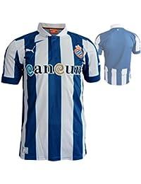 Puma – Camiseta de fútbol Espanyol Home Replica, hombre, 743024 01, true blue