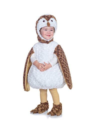 Kleinkind Owl Kostüm - Underwraps White Barn Owl Kleinkind Kost-m 18-24 Monate