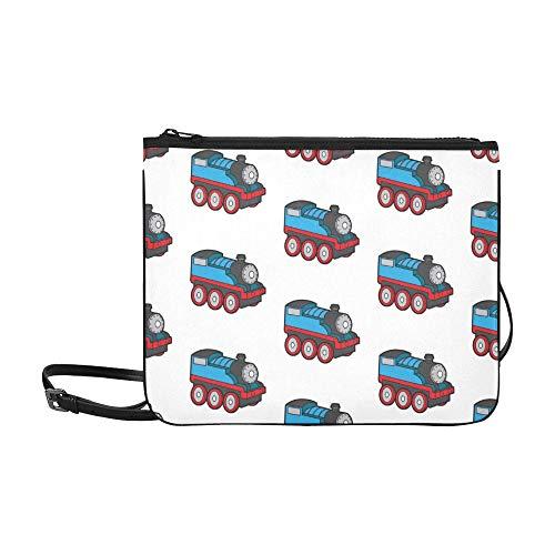 WOCNEMP Kinder Lieblings Spielzeug Fahrrad Muster benutzerdefinierte hochwertige Nylon dünne Clutch Bag Cross-Body Bag Umhängetasche -