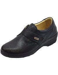 Susimoda Sneakers Linea Conform in Pelle Nera con Sottopiede Estraibile 474f6b4d4b8