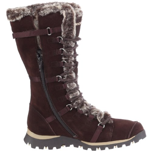 Skechers Grand Jams Unlimited, Bottes femme Marron (Brs)