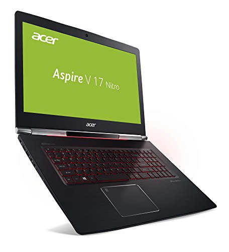 Acer Aspire V 17 Nitro Black format VN7 793G 75U0 4394 cm 173 Zoll FHD IPS matt Gaming Notebook Intel foundation i7 7700HQ 16GB RAM 512GB SSD GeForce GTX 1060 schwarz Notebooks