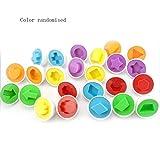 Sensiabl Istruzione Apprendimento Giocattoli Forma Mista Saggio Finta Puzzle Uova Intelligenti Puzzle Colore Casuale