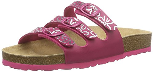 Lico Bioline Teenager, Chaussons fille Rose (Pink/Silber)