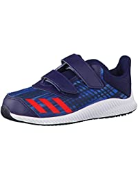 adidas Fortarun Cf I, Zapatillas Unisex Niños, Bleu Ãlectrique/Rose Orangã/Blanc