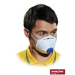 REIS - 10x Staubschutzmaske Maske mit Ventil FFP2