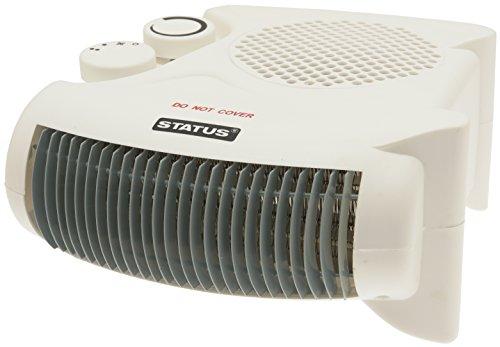 41Py8MGDDlL - Status FH2P-2000W1PKB Heater, 2000 W, White