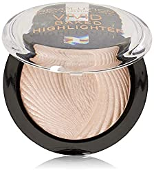 MAKEUP REVOLUTION Vivid Baked Highlighter,Rosa(Peach Lights),7.5g