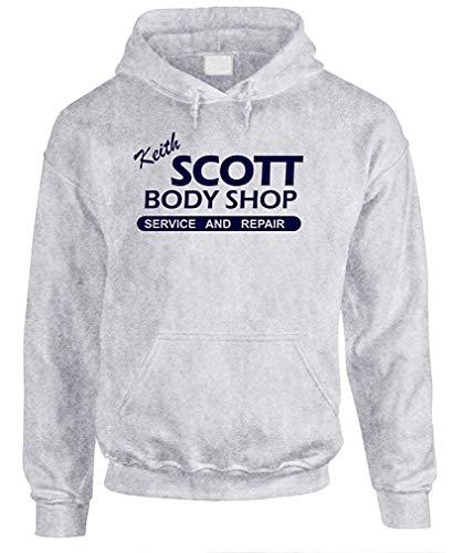 Keith Scott Body Shop Mens Pullover Hoodie