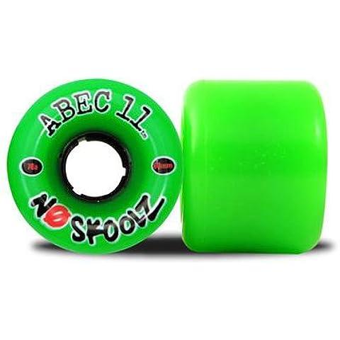 ABEC 11Longboard Wheels no Skoolz 92A (60 Mm Skateboard Ruote)