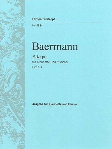 Adagio des-Dur/in Db Major (Ascr. Wagner) Clarinette