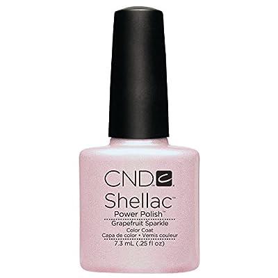 CND Shellac (Grapefruit Sparkle)