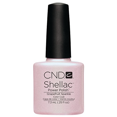 CND Shellac Grapefruit Sparkle, 1er Pack (1 x 7,3 ml)