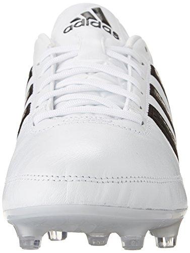Adidas Performance Gloro 16,1 Fg Football Taquet, noir / blanc argent / métallique, 4 M Us White/Black/Metallic Silver