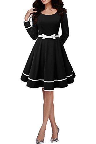 BlackButterfly 'Grace' Vestido Vintage Clarity (Negro, ES 36 -...