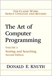The Art of Computer Programming: Sorting and Searching Vol. 3: Sorting and Searching v. 3