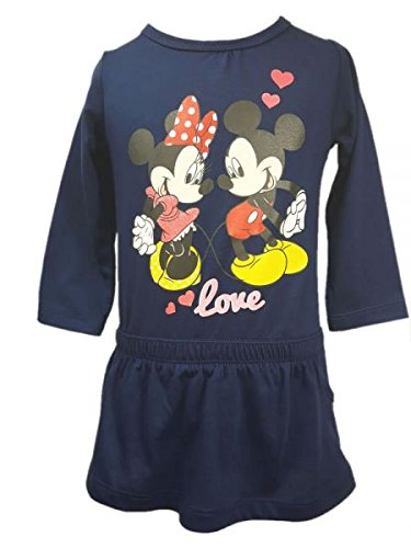 Disney Süsses Minnie Mouse + Mickey Mouse Kleid Gr. 68,74,80,86 Größe 68 -